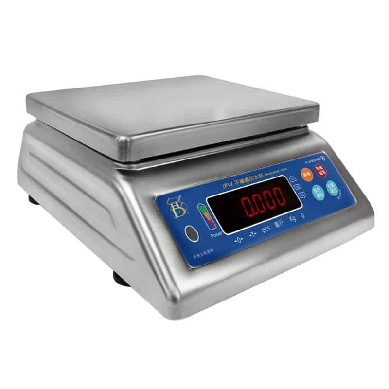 IPW 不鏽鋼 全防水電子計重秤 | 沛禮國際 Polit 電子秤專賣