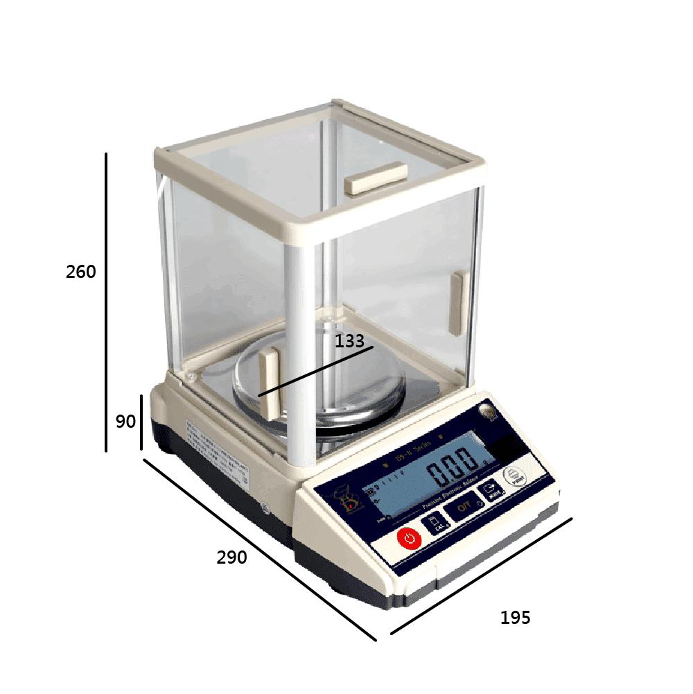 DS-II防風罩電子天平 | 沛禮國際Polit 電子秤專賣