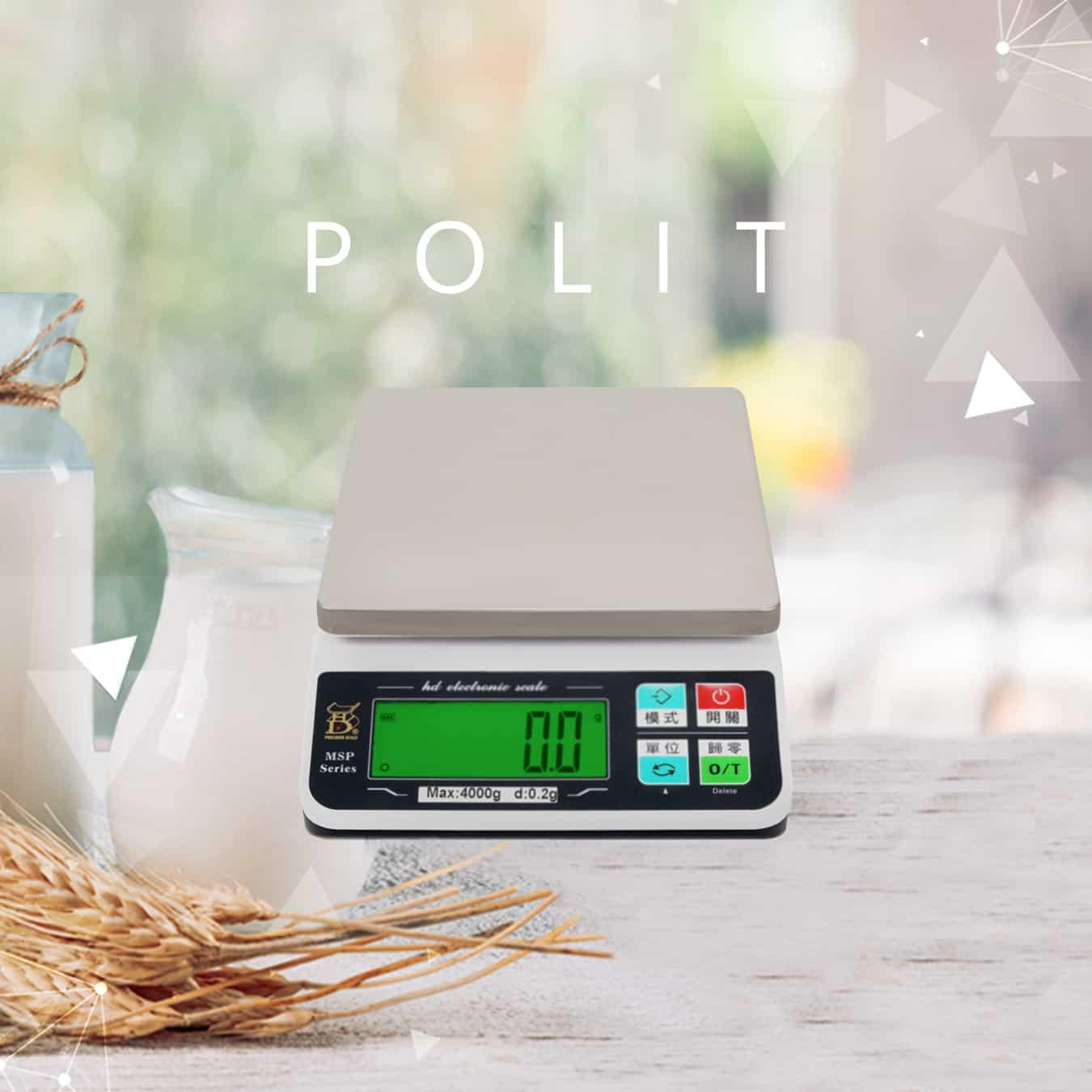 MSP電子秤 料理秤 烘焙秤 | 沛禮國際 Polit 電子秤專賣