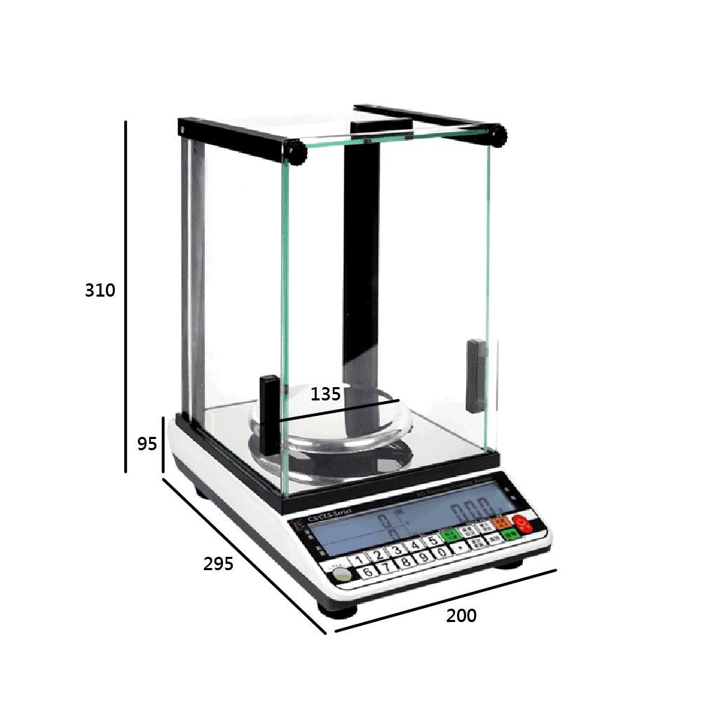 CS防風罩電子天平 | 沛禮國際Polit 電子秤專賣