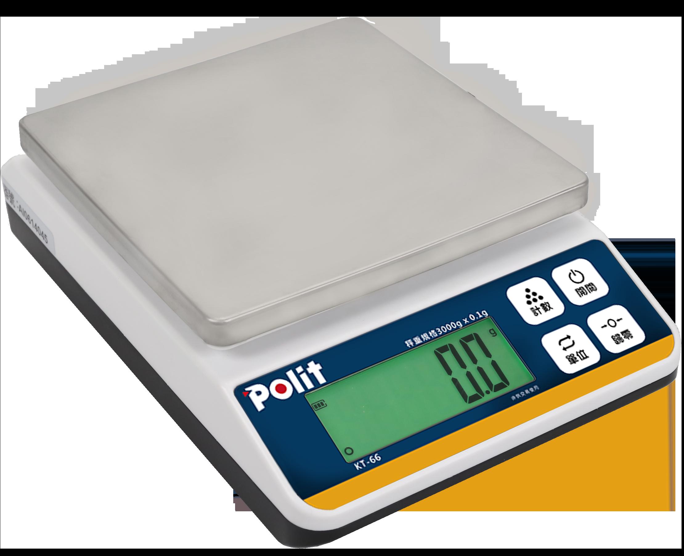 KT-66數位電子秤 | 沛禮國際 Polit 電子秤專賣