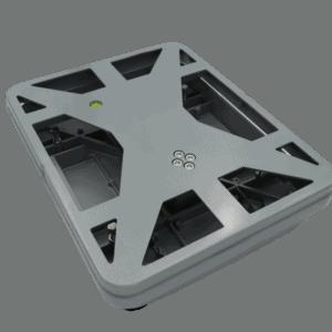 小秤台結構圖 | 鋁合金