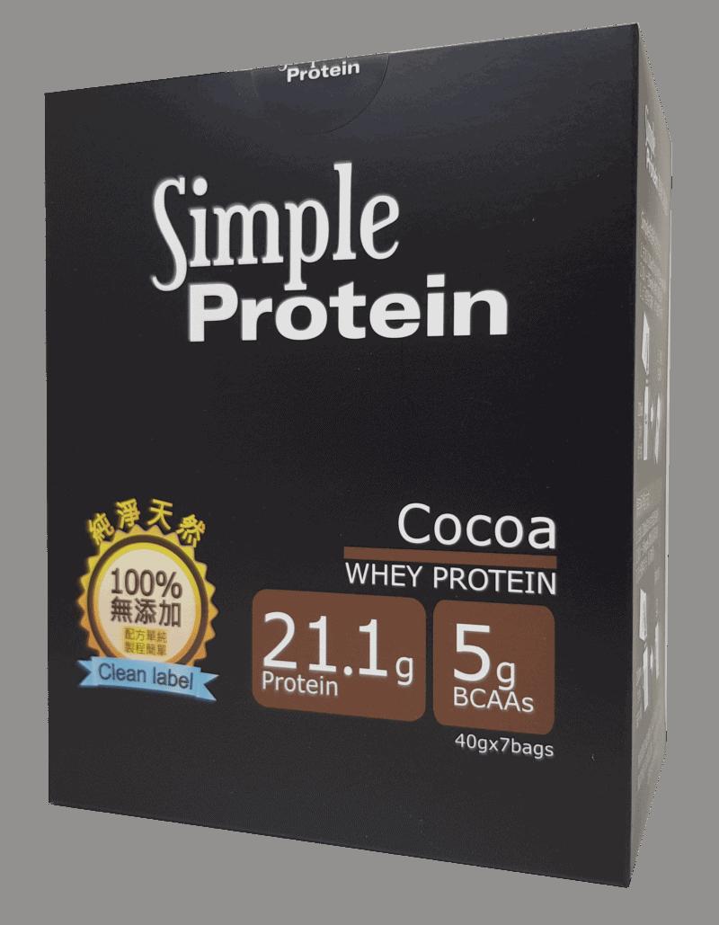 沛禮週年慶 Simple Protein 濃可可7入盒裝   沛禮國際 Polit 電子秤專賣
